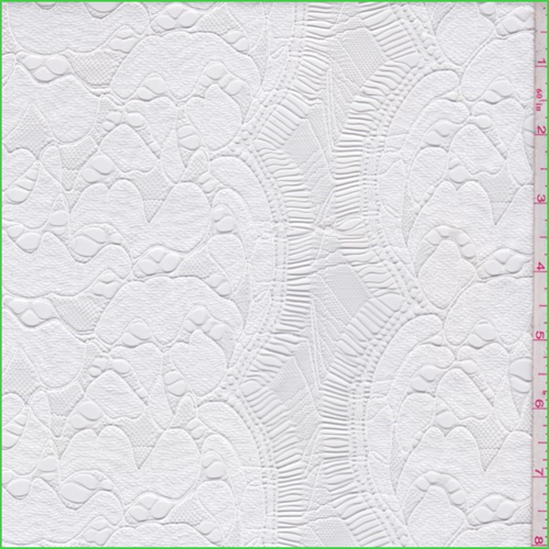 White Nylon Lace, Fabric By the Yard
