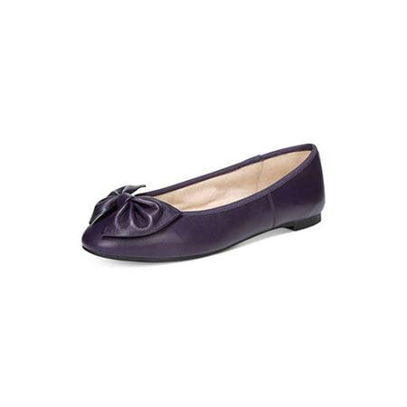 21ec41078 Circus By Sam Edelman Womens Ciera Leather Closed Toe Ballet Flats
