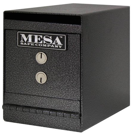 8-Inch Undercounter Safe with Depository Slot in Black (Undercounter Depository Safe)
