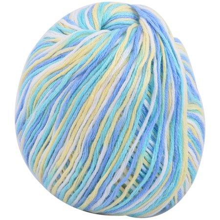 Acrylic Fiber Sweater Hat Gloves Slippers Crochet Knitting Yarn Multicolor