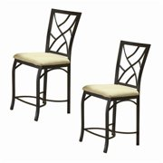 Bernards Sanford 24'' Bar Stool (Set of 2)