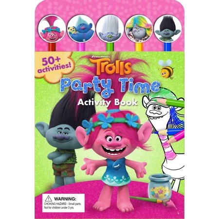 DreamWorks Trolls Party Time Activity Book (Party Activities)