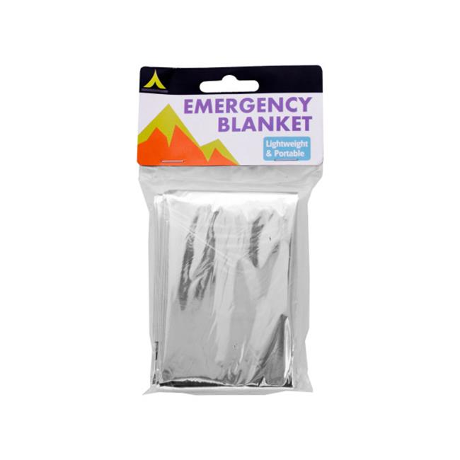 Click here to buy Bulk Buys HC200-72 Emergency Blanket by Bulk Buys.