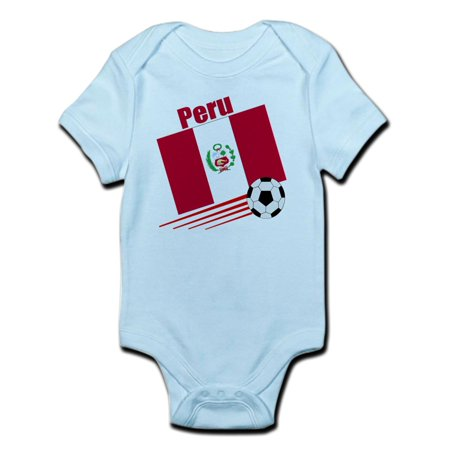 CafePress - Peru Soccer Team Infant Bodysuit - Baby Light Bodysuit