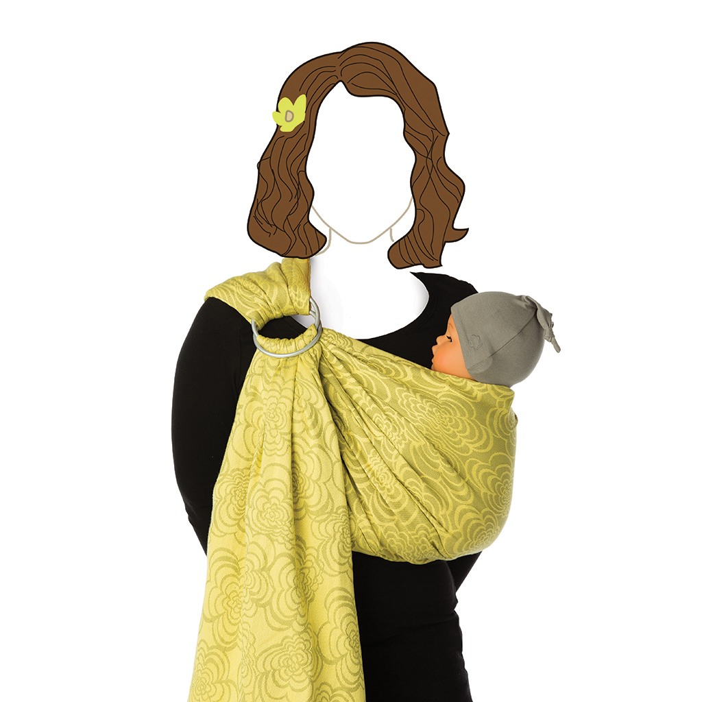 Babylonia Baby Carrier - BB Sling Marigold