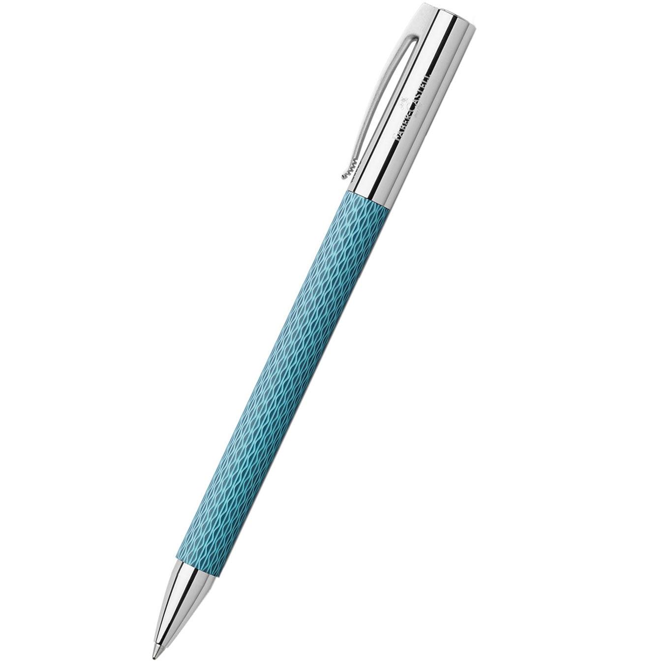 Faber-castell Ambition OpArt Blue Ocean Ballpoint Pen
