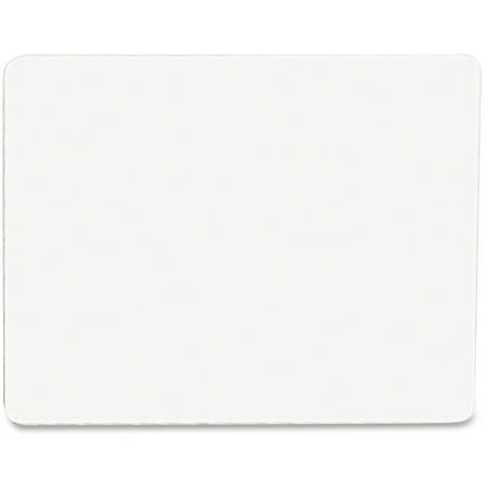 Student Dry Erase Boards - Chenille Kraft Unruled Student Dry-Erase Board, Melamine, 12 x 9, White, 10/Set