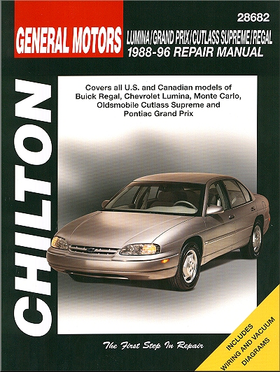 chilton s general motors lumina grand prix cutlass supreme regal rh walmart com 1990 Cutlass Supreme 1987 Cutlass Supreme