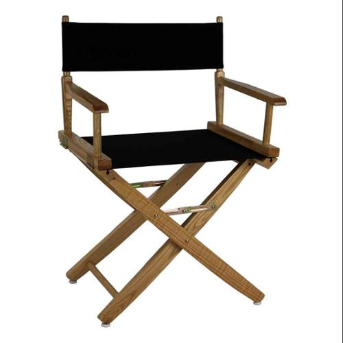 Premium Director Chair with Black Canvas