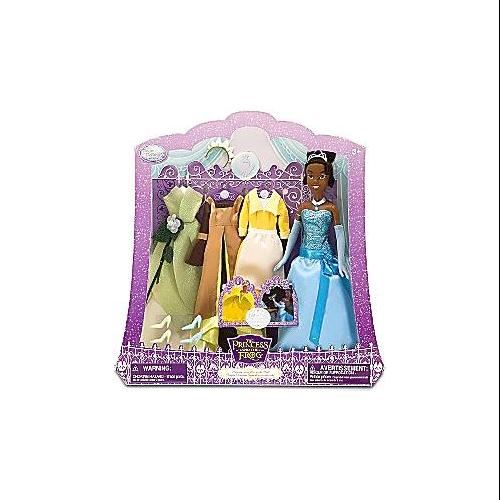 Disney The Princess and the Frog Princess Tiana & Wardrobe Doll Playset