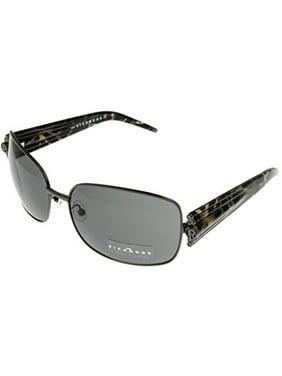 3986011e051 Product Image John Richmond Sunglasses Womens JR648 02 Marbled Swarovski  Crystal Rectangular Size  Lens  Bridge