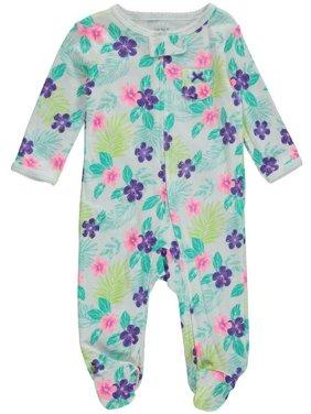 8e3db4fe5 Carter s Baby Girls One-piece Pajamas - Walmart.com