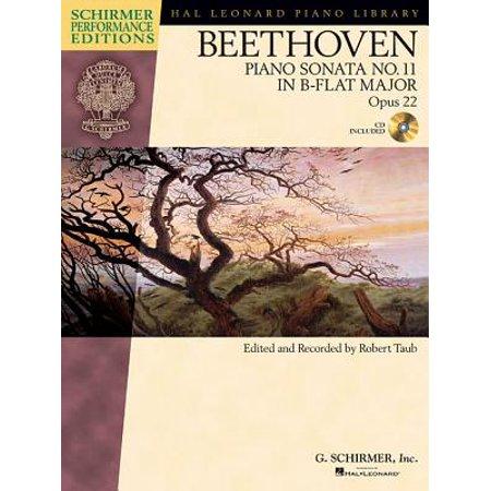 Beethoven: Piano Sonata No. 11 in B-Flat Major, Opus 22 [With CD
