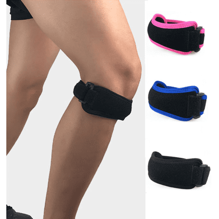 Patella Tendinitis Knee Brace Jumpers Runners Basketball Strap Support Band Anti-slip Pain Relief Band with Silicone