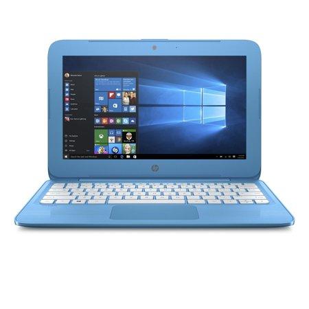 2017 HP Stream 11 11.6 inch Premium Flagship High Performance Laptop (Intel Celeron N3050 1.6GHz, 4GB RAM, 32GB Solid State Drive, Windows 10 Home) Blue (Certified
