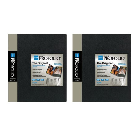 Itoya IA-12-8 The Original Art Profolio 8-1/2X11IN. Art 24 Sheet for 48 Pictures (2 Pack) (Portfolios For Pictures)