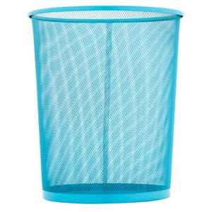 Honey Can Do 4 75 Gallon Round Mesh Metal Trash Basket Multicolor