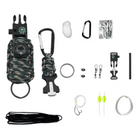 Paracord Grenade Tactical Emergency Survival Outdoor Fishing Camping Bug-Out-Bag (Mountain Camo)