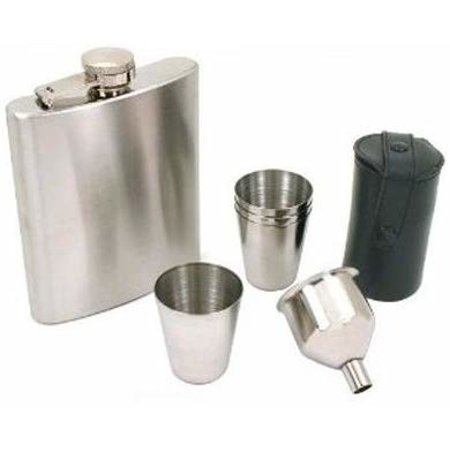 7 Oz Stainless Steel HIP Flask Set Seahawks Hip Flask