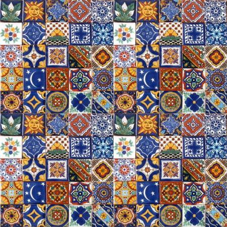 Mexico Mexican Talavera Tile (100 Hand Painted Talavera Mexican Tiles 2