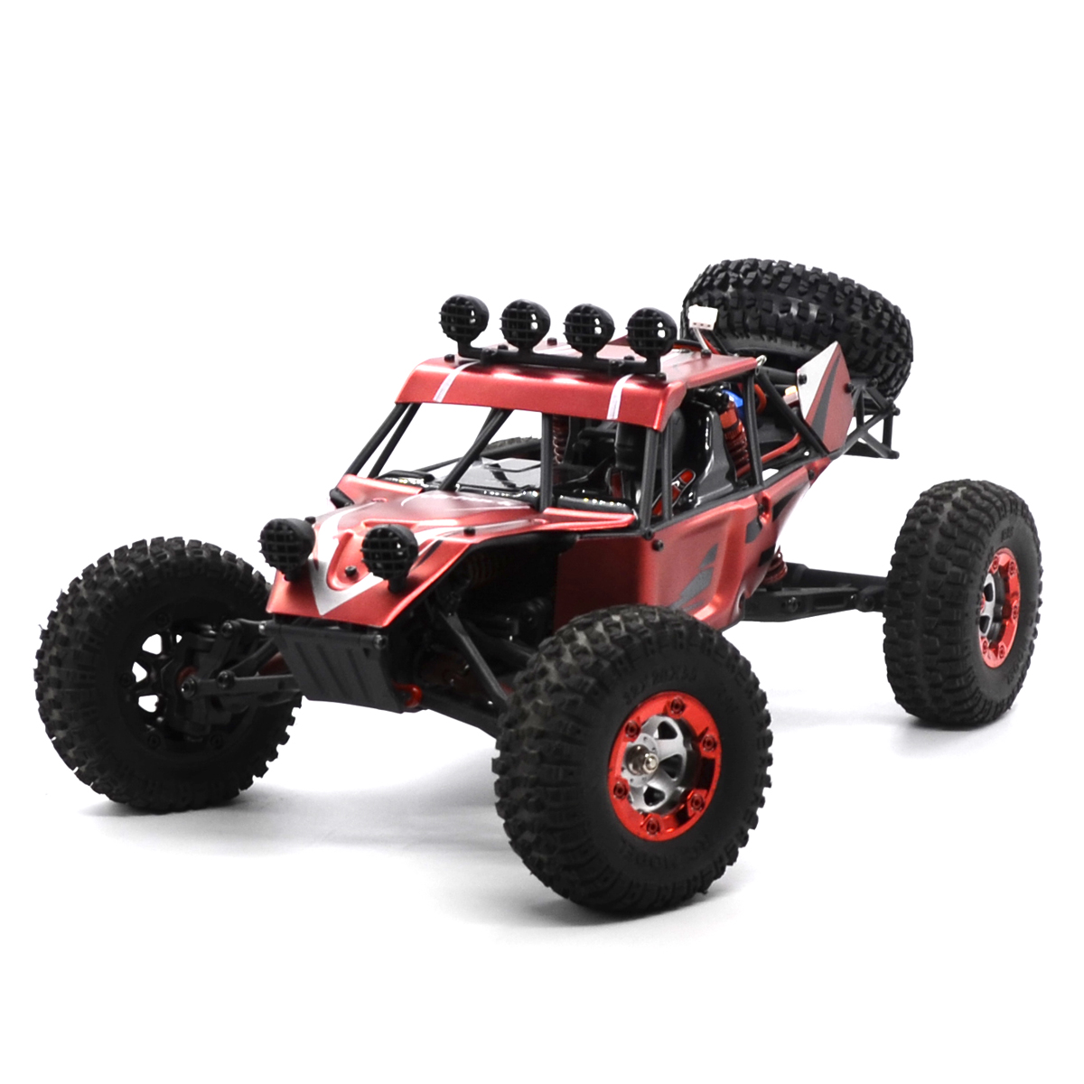Virhuck V01 4WD Off-Road Vehicle Car RC Racing Car Rock Crawler Truck Toys for Kids Boys