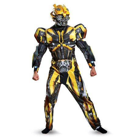 Transformers 5 Bumblebee Deluxe Men's Adult Halloween