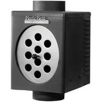 "Magic Heat MH-8R Bottom-Crimp Heat Reclaimer (8"")"