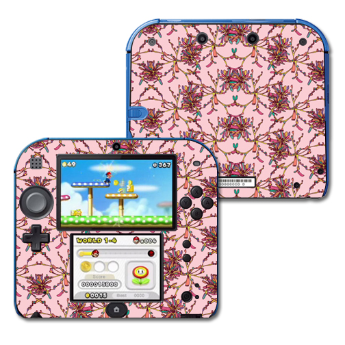Mightyskins Protective Vinyl Skin Decal Cover for Nintendo 2DS wrap sticker skins Flower Crown