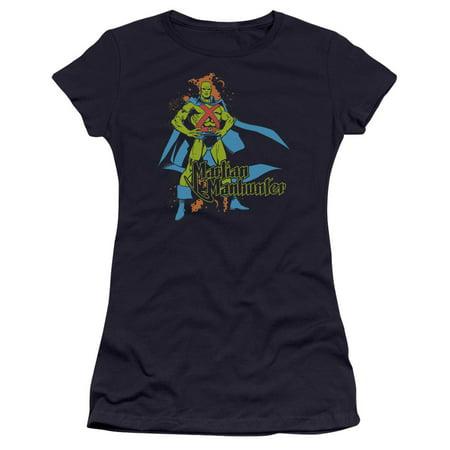 Dc Martian Manhunter Juniors Premium Bella Shirt