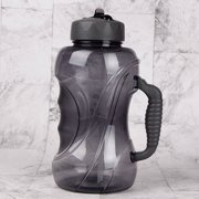 1.5L Large Capacity Sports Bottle Outdoor -slip Handle With Straw Bicycle