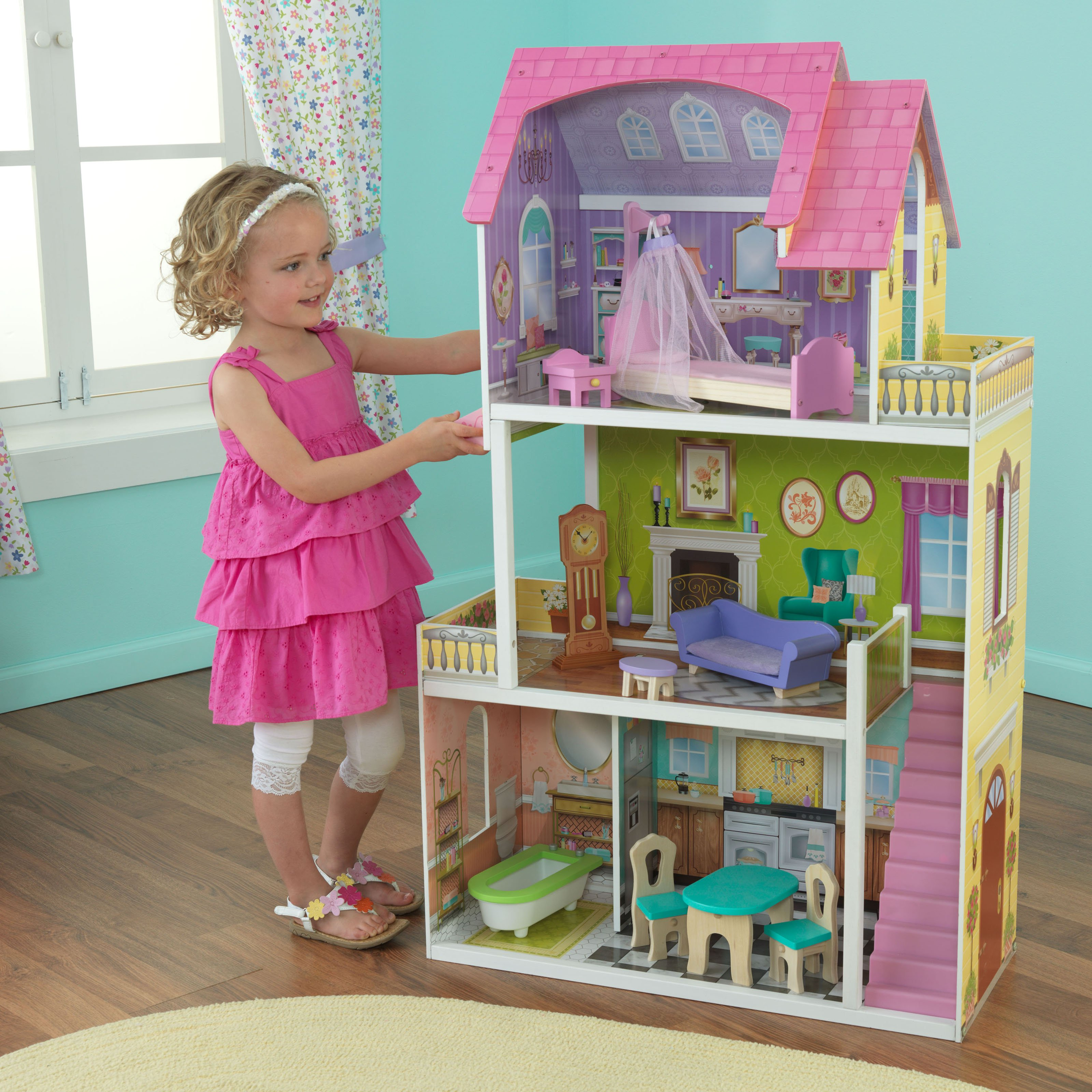 KidKraft Florence Dollhouse 65850 by KidKraft LP