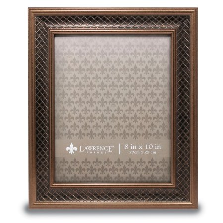 8x10 haber bronze lattice picture frame. Black Bedroom Furniture Sets. Home Design Ideas