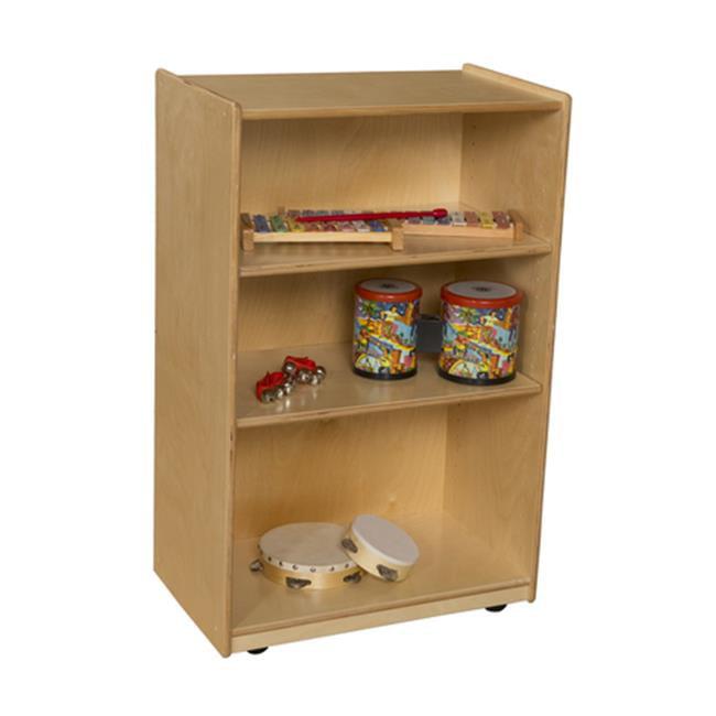 Wood Designs WD AJ Storage with Adjustable Shelves