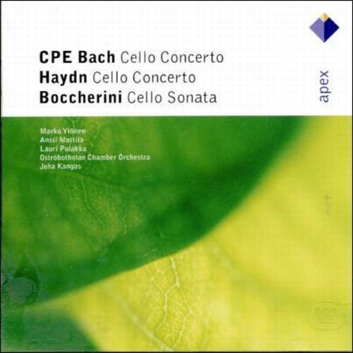 C.P.E. BACH: CELLO CONCERTO IN A; J. HAYDN: CELLO CONCERTO IN D by