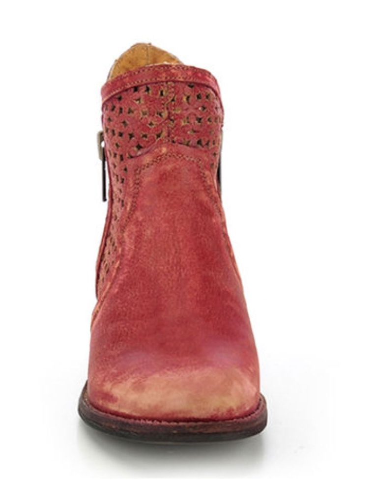 Circle G by Corral Women's Q0003 Red Cutout Shortie Boots Q0003 Women's 3cc46c