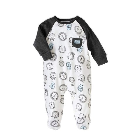 536febcad Rene Rofe - Newborn Baby Boy Footed Coverall One Piece Romper ...