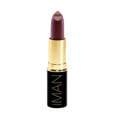 IMAN Luxury Moisturizing Lipstick, Black Brandy