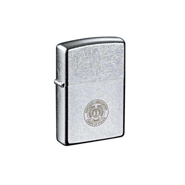 Leeds 7550-18 Windproof Lighter Street Chrome - Silver