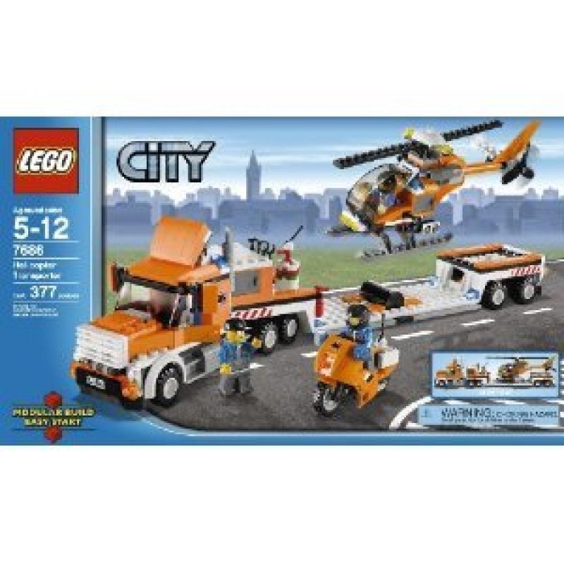 Lego City Helicopter Transporter Set #7686