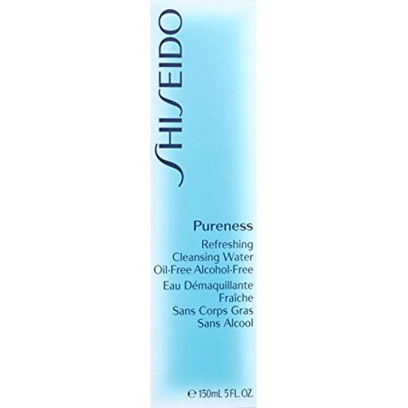 Best Pureness Refreshing Cleansing Water Oil-Free by Shiseido for Unisex Cleansing Water, 5 oz deal