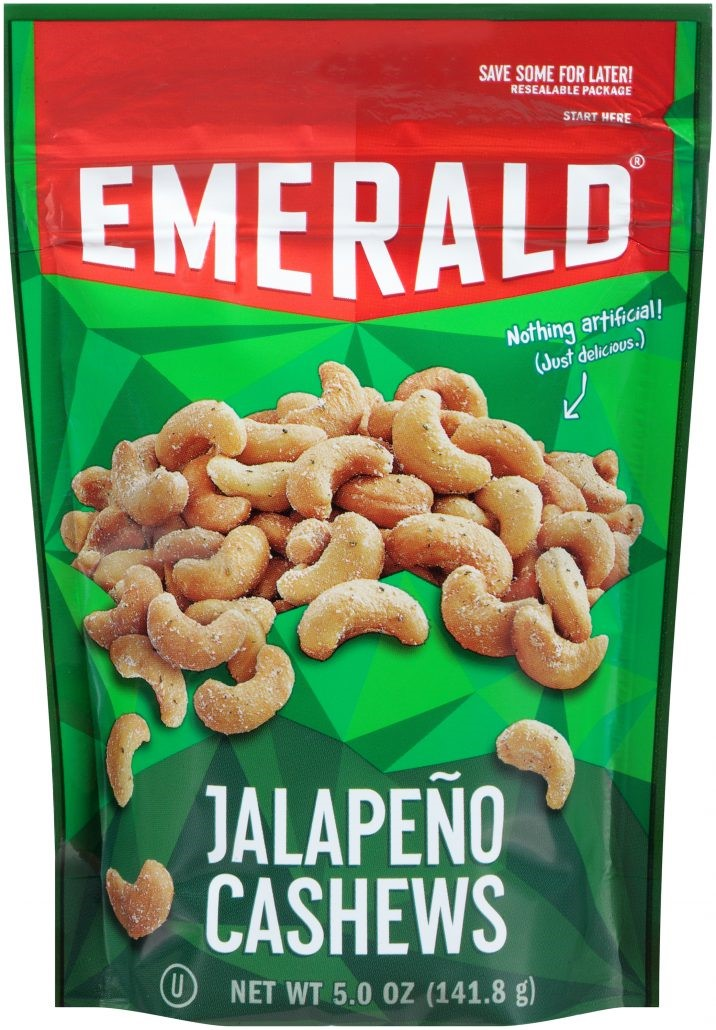 Emerald Cashews Jalapeno, 5.0 OZ by Diamond Foods, Inc