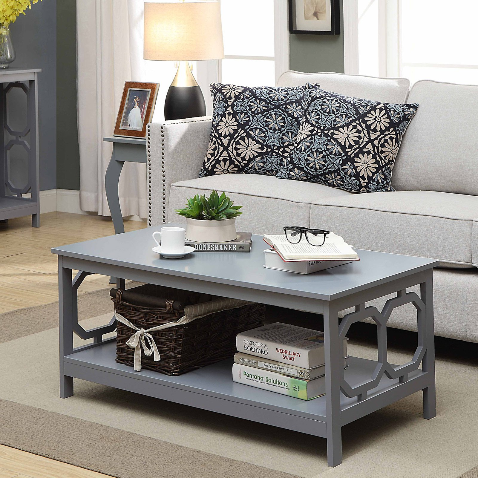 Convenience Concepts Omega Coffee Table, Multiple Colors by Convenience Concepts