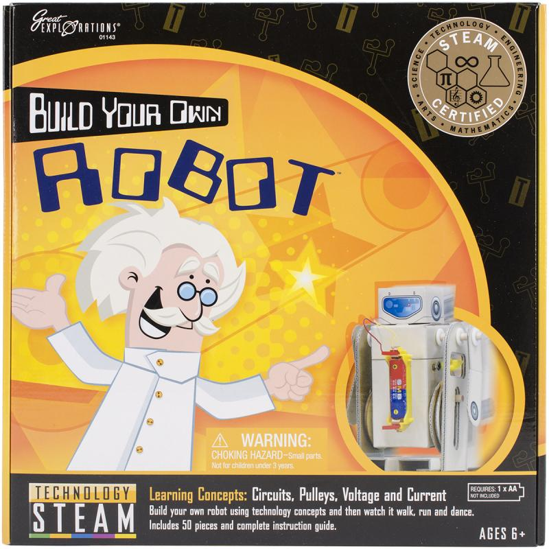 Great Explorations Build Your Own Robot by Great Explorations