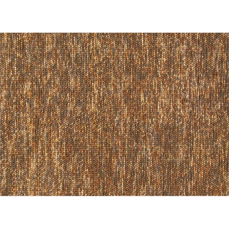 """Loloi Clyde 3'6"""" x 5'6"""" Hand Woven Wool Rug in Gold and Brown"""