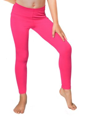 a071fdea9c3 Product Image Girl s Cotton Leggings - Large Child (10)   Hot Pink