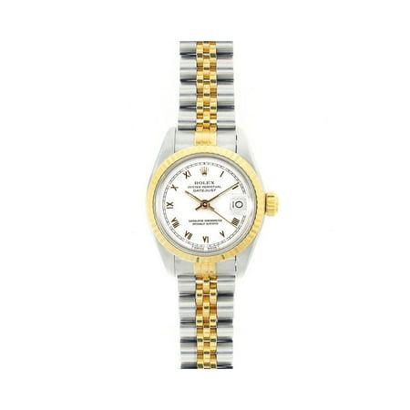 Pre-Owned Rolex Datejust 69173 Steel 26mm Women Watch (Certified Authentic & Warranty)