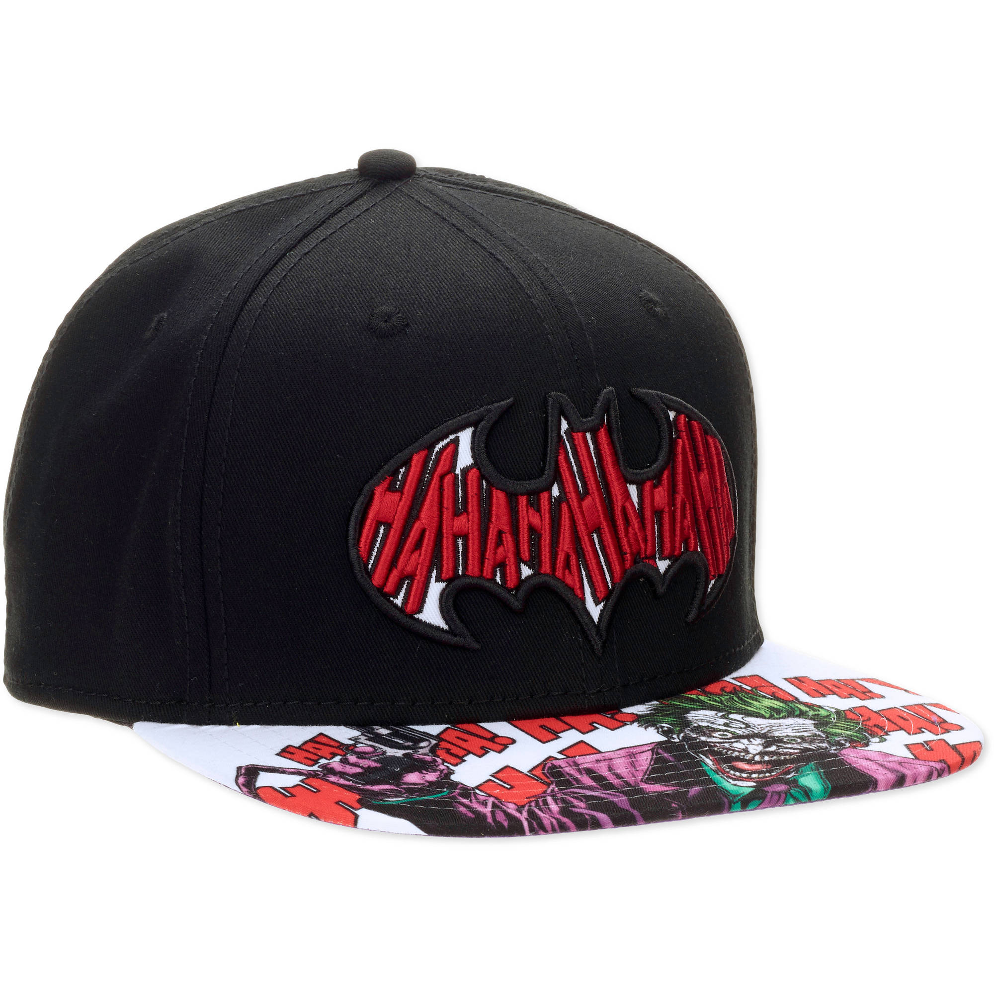 Batman Hahaha Fill Snapback Men's Hat