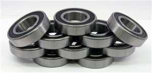 "Sealed Ball Bearing R14-2RS 7//8/""x 1 7//8/""x 1//2/"" Bearings 0.875 Bore//Diameter//ID"