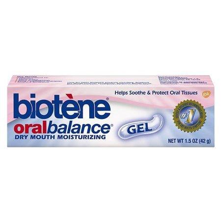 Biotene Dry Mouth Moisturizing Oral Balance Gel 1.5 oz, Pack of 4 -  Biot��ne