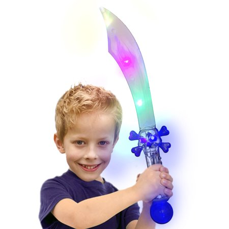 led skull crystal pirate sword - Led Light Sword